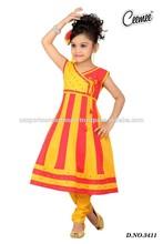 Latest Fashion Full Length Attractive Design Anarkali Dresses Girls Dresses