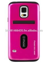 phone case TPU PC Mercury iPocket Premium bumper case (Hot Pink)