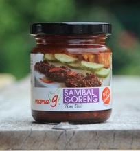 Sambal Goreng in Glass Bottle, Ready-to-eat Red Chili Paste, Red Chili Sauce