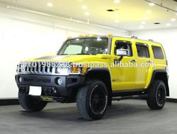 USED CARS - HUMMER H3 TYPE G SUNROOF DEALER CAR (LHD 819710 GASOLINE)