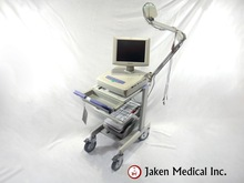 Reconditioned Nihon Kohden 1550A Cardiofax V EKG System with Stress & Cart