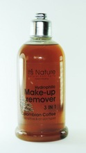 It's Nature - Natural Anti-Aging with Dead Sea Minerals, Hydrophilic Makeup Remover 3-IN-1 Colombian Coffee for Sensitive Skin