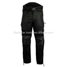 Men's Reissa Black Cordura Motorbike Waterproof Trouser (Textile Pant, Mens Fashion Motorbike Trouser Curdora D600 Trousers