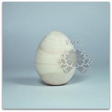 Huevo de madera billet, Sin pintar huevo de pascua, Ts0304