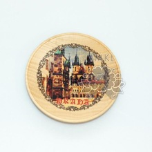 Magnet 'Prague', plywood magnet with your city, GP