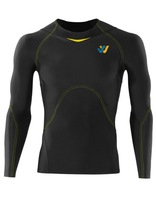 Will&Win Compression Sports Long Sleeve Top Winter Snow Sports Wear custom made bespoke sports clothing