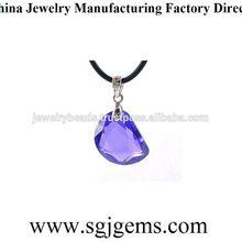 Super quality hot sale cabochon face cz gemstone
