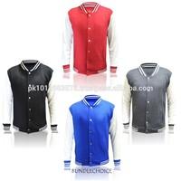 Slim fit varsity jacket / girls baseball jacket varsity jackets/ Custom girl varsity jacket