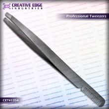 Eyebrow Tweezers with comb made / Best eyebrow tweezers / Professional cosmetic tweezers CES 1354