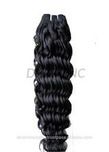 virgin raw unprocesse virgin indian hair weaving 7A virgin hair extension factory price