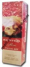 Richfeel Rose Facial Kit - 1kit
