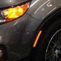 LED Side Bumper LED Reflector Set for 2009-2012 KIA Sorento R