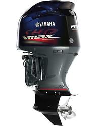 Used Yamaha VMAX SHO VF 200 HP 4 Stroke Outboard Motor