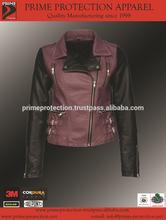Leather Motorcycle Jacket / Fashion Jacket/ Motorbike Leather Jacket