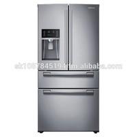 Sam .. su .. ng 33-Wide, 25 cu. ft. Capacity 4-Door French Door Refrigerator (Stainless Steel)