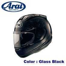Comfortable aerodynamic ARAI full face helmet available in various sizes