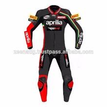 Aprilia Leather motorbike Racing Suit CLMS-10