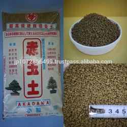 Versatile Akadama soil with moisture retaining properties for black rose plants