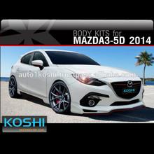 KOSHI Sport Body kit for New MAZDA 3 2014 5 Doors