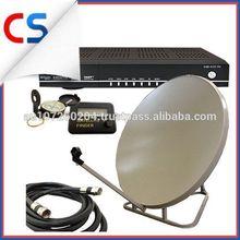 Digital Boc Channel Receiver TV Satellite Vast Signal