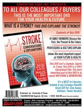 Educational DVD The Stroke
