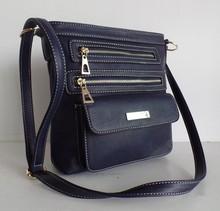 multi-pockets PU cross body bag