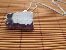 Special new coming gem druzy pendant necklace