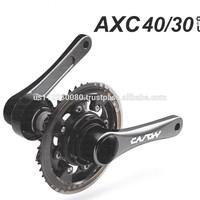 CARON UNISET. Six Motion Pedaling Crank Set. Can be installed on any regular bike.