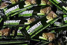 MUSCLEPHARM, Combat Crunch Bars , bulk Protein Bars