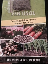 Organic Composted Chicken Fertiliser (NPK 3,5+3,5+3) + 1,3 MGO