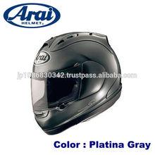 Aerodynamic ARAI motorcycle helmets for sale made in Japan