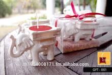 aroma candela di soia fantasia elefante design candela