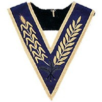 Masonic Sash/ Msonic Regalia Sashes /Sash Of Degree Hand Embroidered