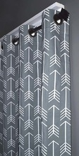 indian Blackout Lined ARROW Grommet Curtains