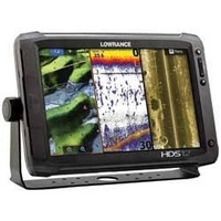 LOWRANCE HDS-12 Gen2 Touch Insight USA Touchscreen Marine GPS Sonar Chartplotter with 82/200kHz Transducer