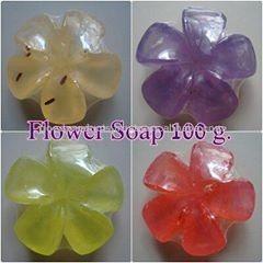Natural Soap Flower soap 100 g.