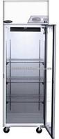 Refrigerator (pass-thru) 25 Cf, Glass Door. Model NSSP242WWF 5
