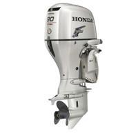 Used Honda 90 HP Outboard Motor