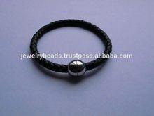 Design new products leather bracelet for men