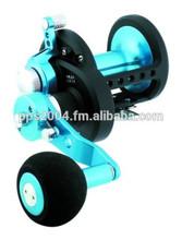 Daiwa STTLD40-2SPD Saltist 2-Speed Conventional Lever Drag Reel, Blue Finish