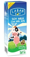 soy milk product with 40% cows milk