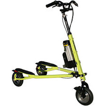 Neww Hotts Selling Trikkey Pon-e Lite 36V Electric Standing Tricycle - Green Scooters....(ORIGINALS)