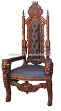 High Back Throne Lion King chair HBC05