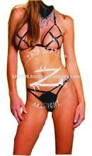 hot sexi ladies and women bikini micro bikini oily beach dance leather bikini