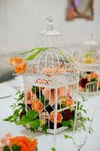 Decorative metal wedding bird cage, Garden decoration bird cages