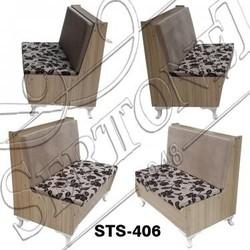 small modern sofa deocorative floral linen mini - sofa