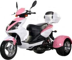 Ice Bear Mojo Sporty 50cc Motor Trike Moped Scooter PST50-8