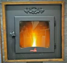 Fireplace boiler on pellet