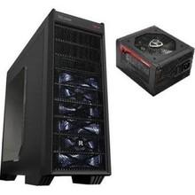 Gamemax Atx Noise Killer Pc Desktop Gaming Computer Case W/ 700w Power
