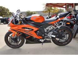Used Yamaha YZFR6 sport bike